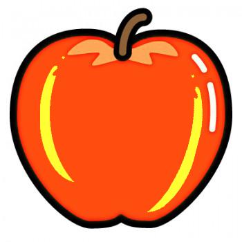 りんごの色づき自家用